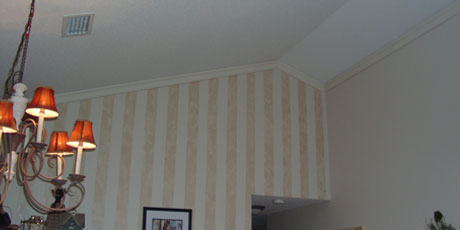 Crown Molding adds interest to any room
