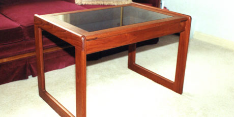 Kelley Carpentry can build customized furniture to complete your look.