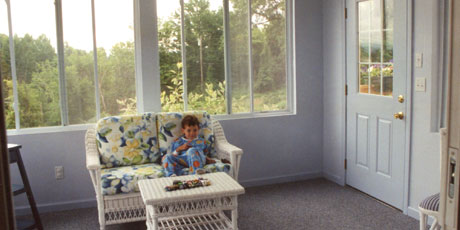 A sunroom addition adds light and space to your home