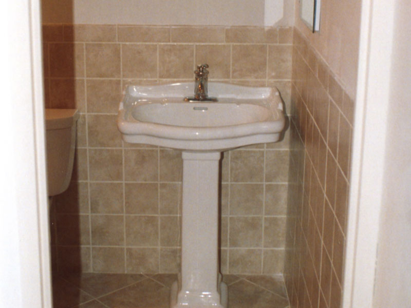 Perfect I Want To Revamp The Bathroom  It Tiled Up Half The Wall Ive Got To Stop Saying &quothow Stupid Can You Be?&quotToo Many People Are Taking It As A Challenge We Have White Tiles On The Floor With Ummm Very Light Peach Colour Tiles Halfway