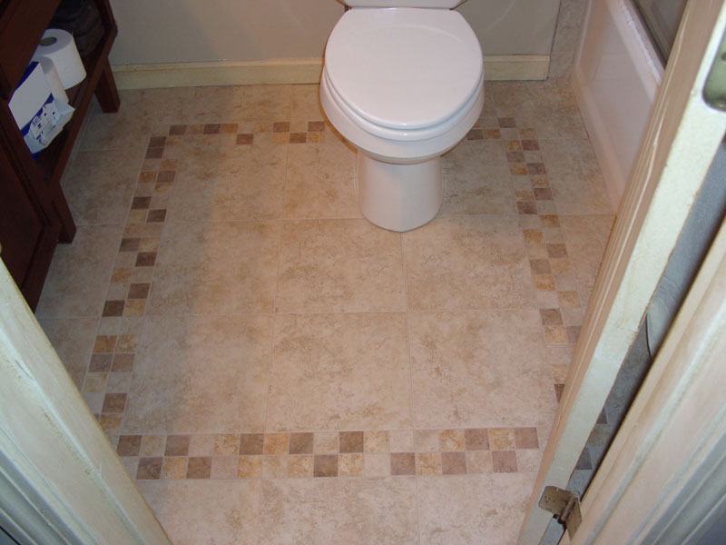 Let Kelley Carpentry re-tile your bath, giving it a new look.